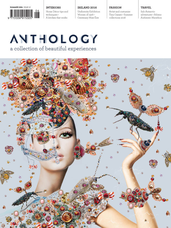 Cover of Anthology Magazine Issue 1, Spring 2016