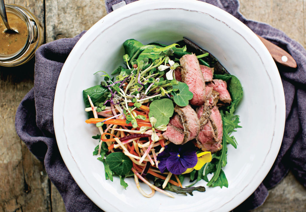 Warm Steak Salad by Nevan Maguire of MacNean