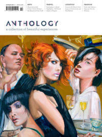Anthology magazine cover issue 12